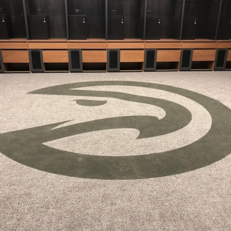 Atlanta Hawks Locker Room