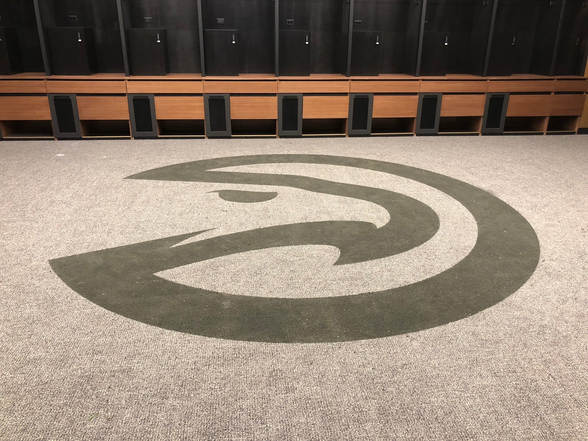 Atlanta Hawks Locker Room Carpet Renovation