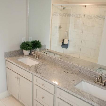 Bathroom countertop