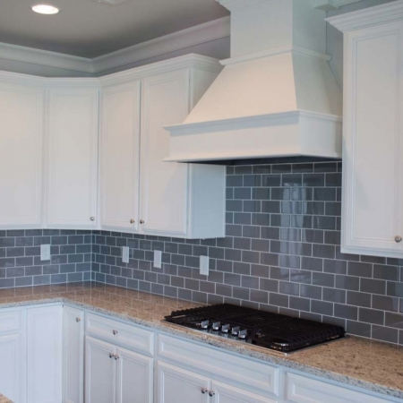 Kitchen countertop and tiles