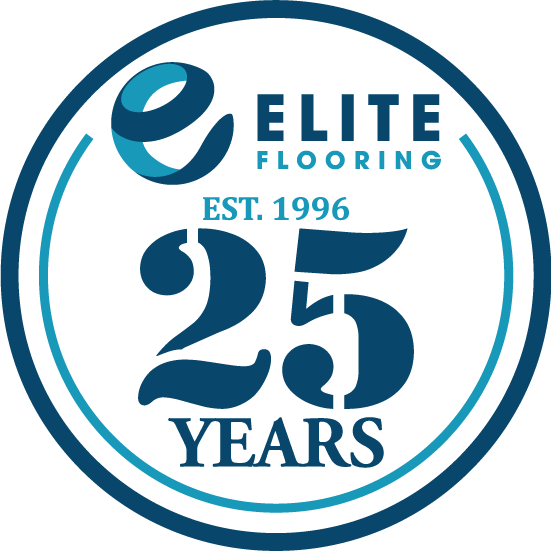 Elite Flooring - 25th Anniversary logo